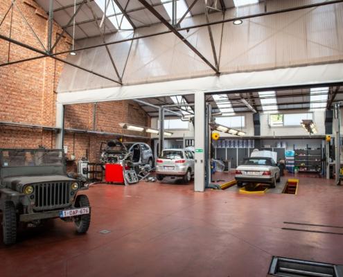 De werkplaats Van Der Linden